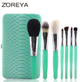 2016 New arrival ZOREYA Brand 7pcs Animal Makeup Brushes High-end Make Up Brush Set As Cosmetic Tool For Beauty Women