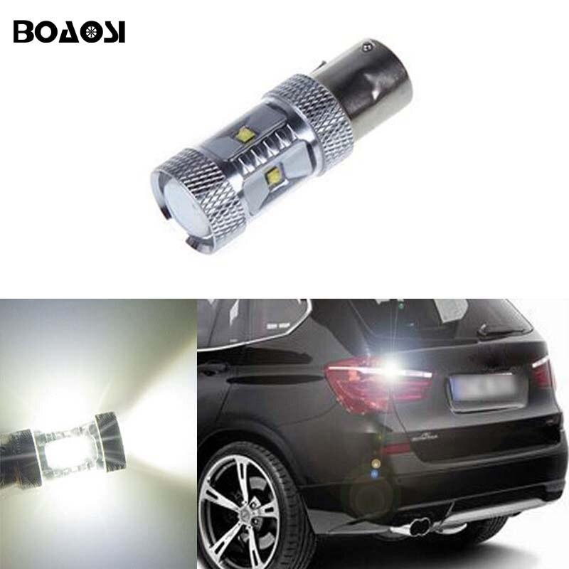 Boaosi 1x 1156 P21w Canbus No Error Led Rear Reversing Tail Light Bulb For Bmw 3 5 Series E30