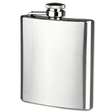 Outdoor 8oz Portable Stainless Steel Leak Proof Hip Flask Hiking Gear for  Picnic Supply Wine Bottle