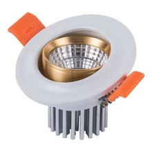 3W 7W Round Recessed Lamp LED Downlight 110V 220V Led Bulb Bedroom Kitchen Indoor LED Spot Lighting