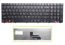 Новая Клавиатура США Для Acer Aspire 5740 5536 5536G 5738 5738 г 7735 7551 5336 5410 5252 5742 Г 5738Z 5742Z ноутбук Черная клавиатура