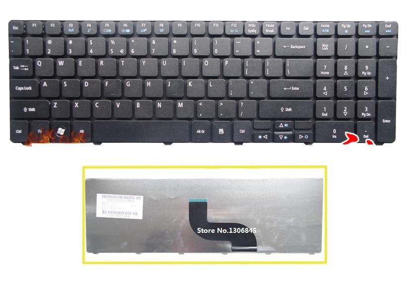 SSEA Nieuwe ONS Toetsenbord Voor Acer Aspire 5740 5536 5536G 5738 5738g 7735 7551 5336 5410 5252 5742G 5742Z 5738Z laptop Zwart toetsenbord