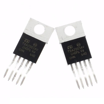 10PCS ZIP-5 ST 10W TDA2003 CAR RADIO AUDIO AMPLIFIER image