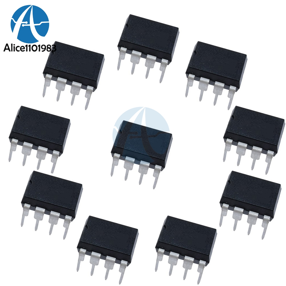 US $0 88 |10pcs TL072CN TL072 TL072C TL072CP DIP 8 Operational Amplifiers  Op Amps Dual Low Noise JFET new original-in Integrated Circuits from