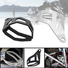 Motorcycle CNC Rear Brake Fluid Reservoir Guard Cover Protect/Protector For BMW R1200GS LC R1200GS LC Adventure 2014 2015 2016 moto instrument hat sun visor meter cover guard screen protector for bmw r1200gs lc adventure r1250gs lc adv f750gs f850gs c400x