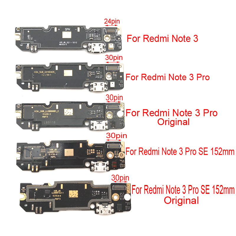 Power Charge For Xiaomi Redmi Note 3 Note3 Pro USB Dock Connector Charging Port Flex Ribbon Board For Redmi Note 3 Pro SE 152mm