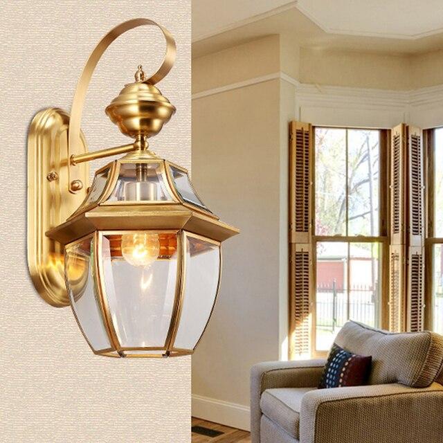 Lumières Extérieures Extérieur Terrasse Décoration Applique Murale