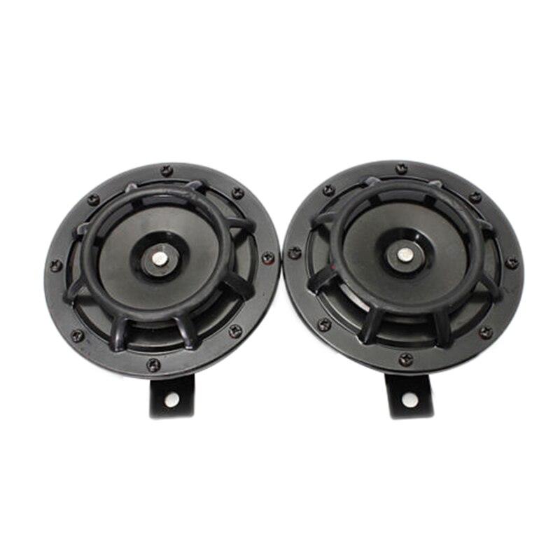 Supertone Dual Car Grille Horn (Pair) 12V 139dB For Subaru Impreza WRX Evo New -Black