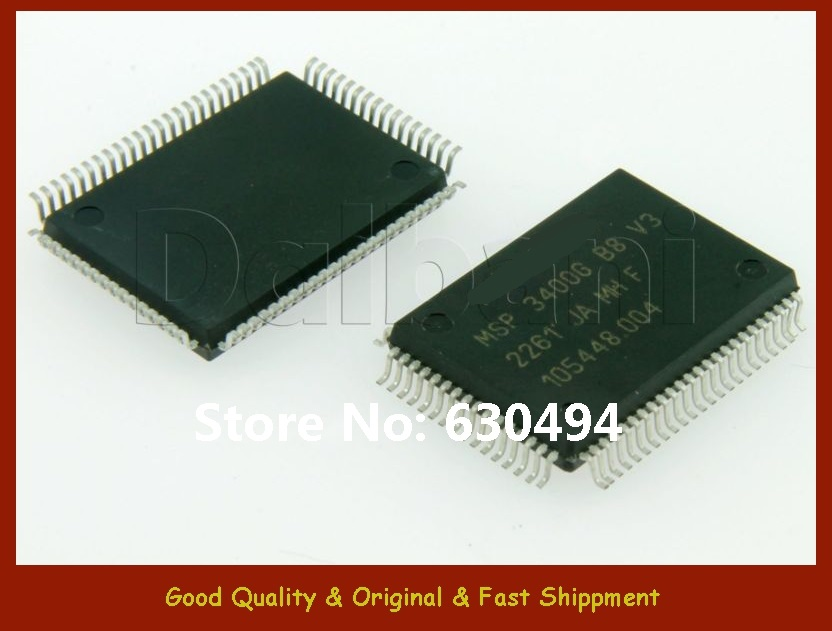 Free Shipping MSP3400GB8V3 Original New  as Integrated CircuitFree Shipping MSP3400GB8V3 Original New  as Integrated Circuit