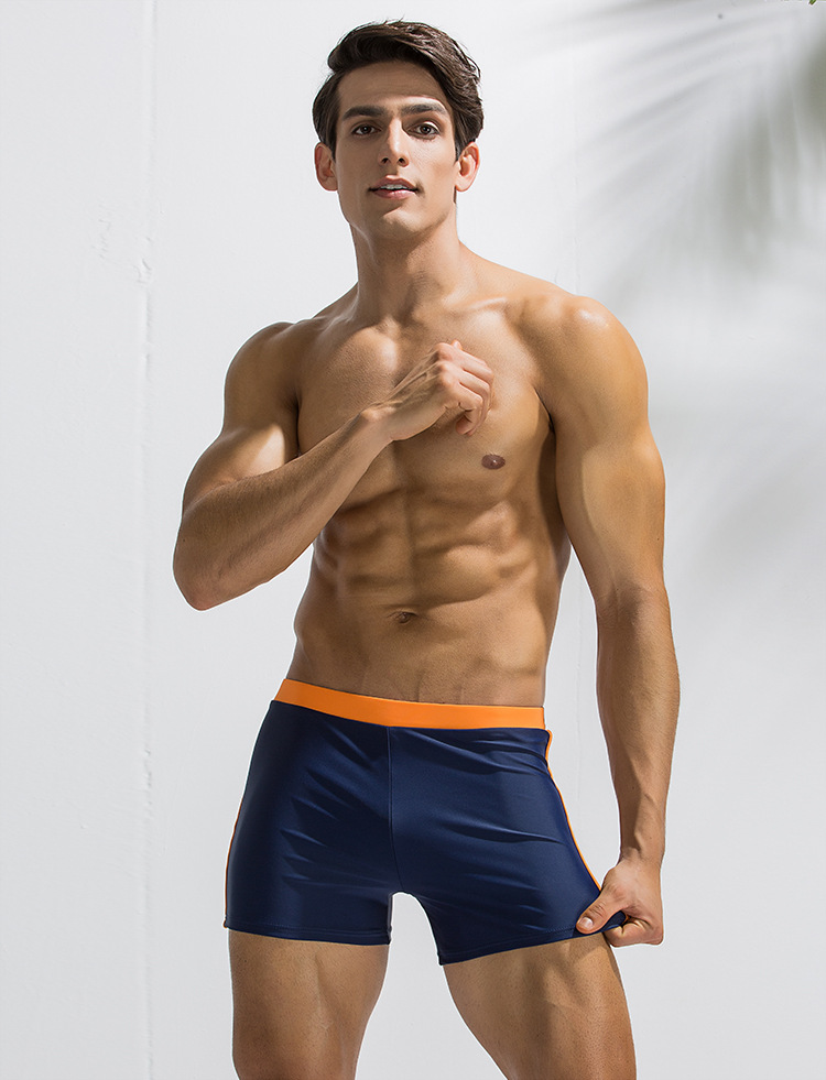 Men/'s Swimming Trunks Fitness Skull Brief Swimwear Bikini underwear Padded Cup
