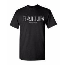 New Fashion Men's Clothing O-Neck Ballin Amsterdam Graphic Unisex T-shirt Print Men Short Sleeve T Shirt Cotton Cool Tee Shirt