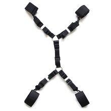Секс Инструменты для продажи секс Legcuffs наручники на кровать сексуальные секс-игрушки БДСМ фетиш бондаж комплект рабы секс-игрушки для пар.