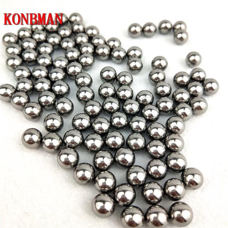 100 pcs/Lot 6mm 7mm 8mm Steel Balls Slingshot Hunting High-carbon Steel Slingshot Balls Catapult Slingshot Hitting Ammo Steel