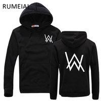 RUMEIAI Fashion Men Sweatshirts Music DJ Divine Comedy Alan Walker Faded Coat Hoodies Sweatshirts Men Pullovers