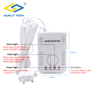Image 4 - Russian Shipping Portable Water Leak Detector Flood Leak Sensor Alarm with Sensitive Water Cable and Valve Connection Cable