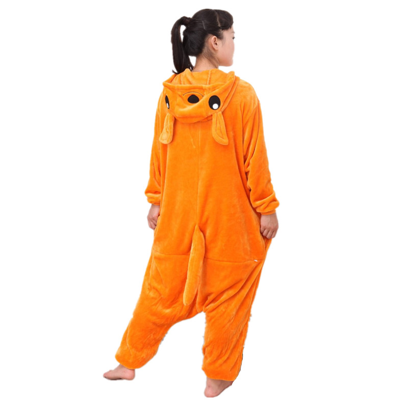 Kangaroo Bir Parça Heyvan Cosplay Kostyum Kıyafeti Pijama Keçid - Karnaval kostyumlar - Fotoqrafiya 3