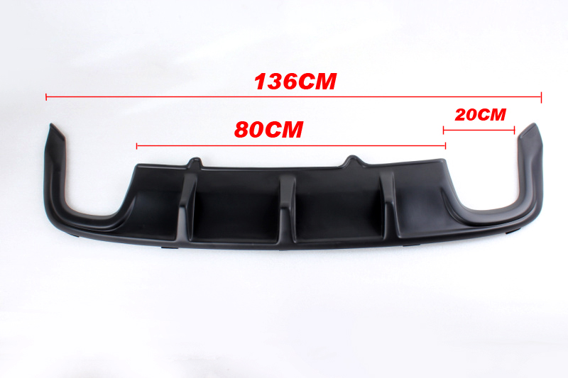 ФОТО PP JC Car Styling auto rear spoiler diffuser lip for VW Passat CC 2011-2012