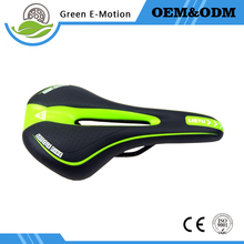 10 colors Cool Bicycle Saddle Cycling Bike Saddles Mountain bike Road bike PU Leather Seat Mountain Bike Bicycle Parts