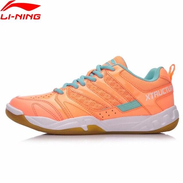 Li-Ning Для женщин STRIKER профессиональный бадминтон обувь дышащая подкладка спортивная обувь носимых анти-скользкий кроссовки AYTN042 XYY068