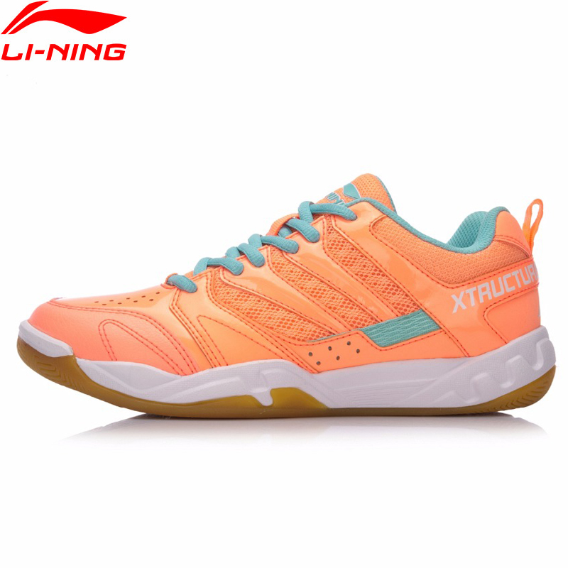 Li-Ning Women STRIKER Professional Badminton Shoes Breathable LiNing Sport Shoes Wearable Anti-Slippery Sneakers AYTN042 XYY068 li ning professional badminton shoe for women cushion breathable anti slippery lining shock absorption athletic sneakers ayal024