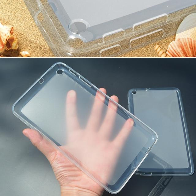 T1-701u Case Soft TPU Silicone Cover For Huawei MediaPad T1 7.0 Screen tablet  T1 701U BGO-DL09 Lte T1-701UA Rubber back Case