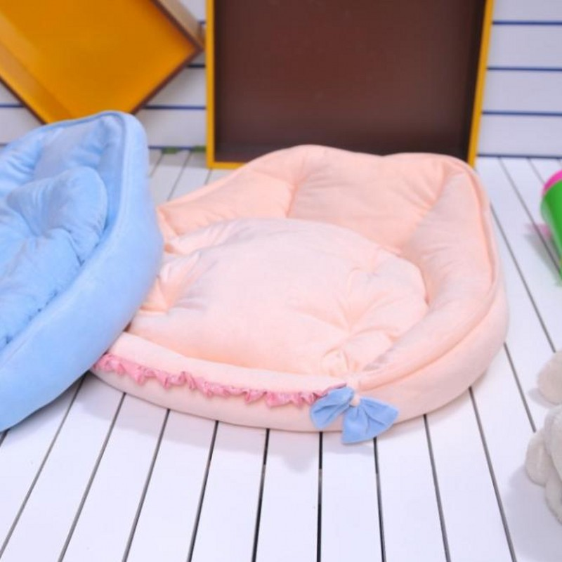 New! Lovely Animal Modelling Pet Waterloo Good Quality Cat/Dog Bed For Winter 2 Color Free Shipping
