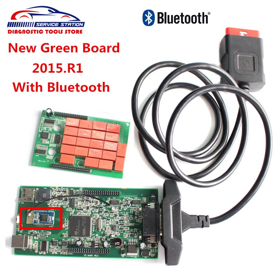 Best Price CDP With Bluetooth New 2015.1 TCS CDP Bluetooth Auto Diagnostic Scan Tool TCS CDP PRO For Cars/Trucks/Generic 3 in 1