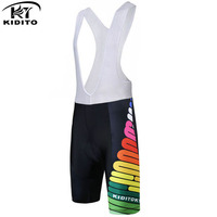 KIDITOKT Women Outdoor Breathable Cycling Shorts Quick Dry 3D Gel Padded Coolmax Bicycle Pants Cycling Bib