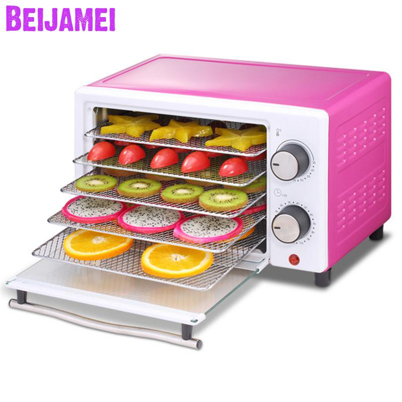 BEIJAMEI 2019 New Electric Dried fruit machine Home fruit food dryer small vegetables Herbs Dehydration priceBEIJAMEI 2019 New Electric Dried fruit machine Home fruit food dryer small vegetables Herbs Dehydration price