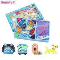 Bainily 1000pcs Aqua Magic Water Beads Perlen 12 Colors Beads Puzzles Toys Set Beads 3D