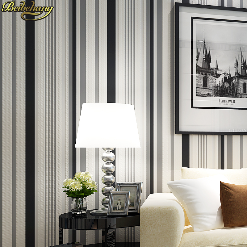 living striped vertical simple bedroom stripes background stripe abstract tv minimalist modern non papel woven parede wallpapers curves please aliexpress