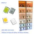 $0 99/100 шт SMD LED 2835 белый чип 0 5 Вт 3 0-3 6 В 150 мА 45-50лм ультра яркий поверхностный монтаж Светодиодная лампа