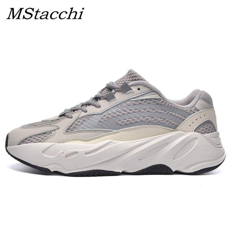 MStacchi baskets légères réfléchissantes femmes et hommes chaussures amoureux de course baskets pour femme chaussures décontractées respirantes dames baskets