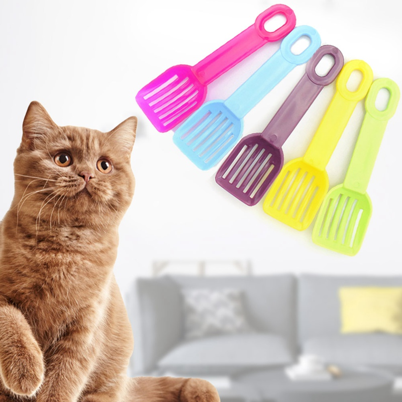 Pet Cleaning Tool Sand Cleaning Products Useful Cat Litter Shovel Toilet For Food Spoons Pet Cleaning Spades Plastic Scoop