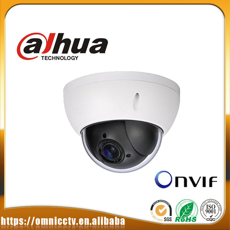 Dahua CCTV 2MP PTZ IP POE camera DH-SD22204T-GN 4x Optical Zoom WDR SD Card ONVIF Alarm Surveillance Security Dome Camera noble people шапка rnb широкие полоски для мальчика 19515 1238 голубой noble people