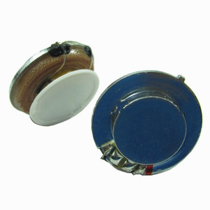 Image 5 - Tenghong 2pcs 27MM Resonance Speaker 4 Ohm 3W Audio Portable Flat Vibration Speakers For Blood Massage Stereo Loudspeaker DIY