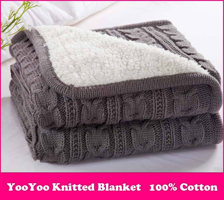 Knitting Pattern For Cotton Throw : Compare Prices on Cable Knitted Blanket- Online Shopping/Buy Low Price Cable ...