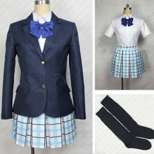 Anime A Silent Voice Koe no Katachi a shape of light Uniform Dress Cosplay Costume Tailor Made