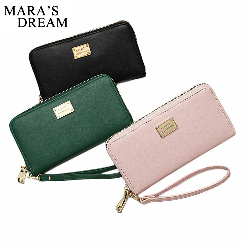 Maras Dream 2018 Top Quality Guarantee Lady Women Purse Clutch Wallet Small Bag Card Holder Handbag Purse Female Wallets