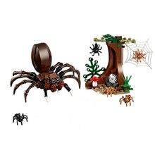 New Harring Movie Aragogs Lair Compatible Harri Magic Great Potters 75950 Building Bricks Blocks Toys Children Christmas Gift