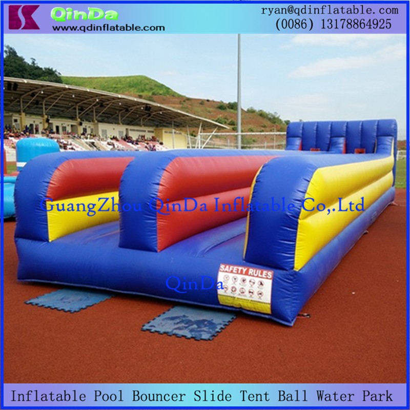 Inflatable Bungee Run7