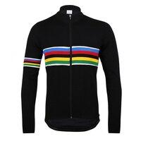 UCI Camisa de Ciclismo Preto Manga Comprida de Bicicleta jersey Maillot ciclismo Roupas de Ciclismo dos homens Tops Bicicleta Veste # CX-005
