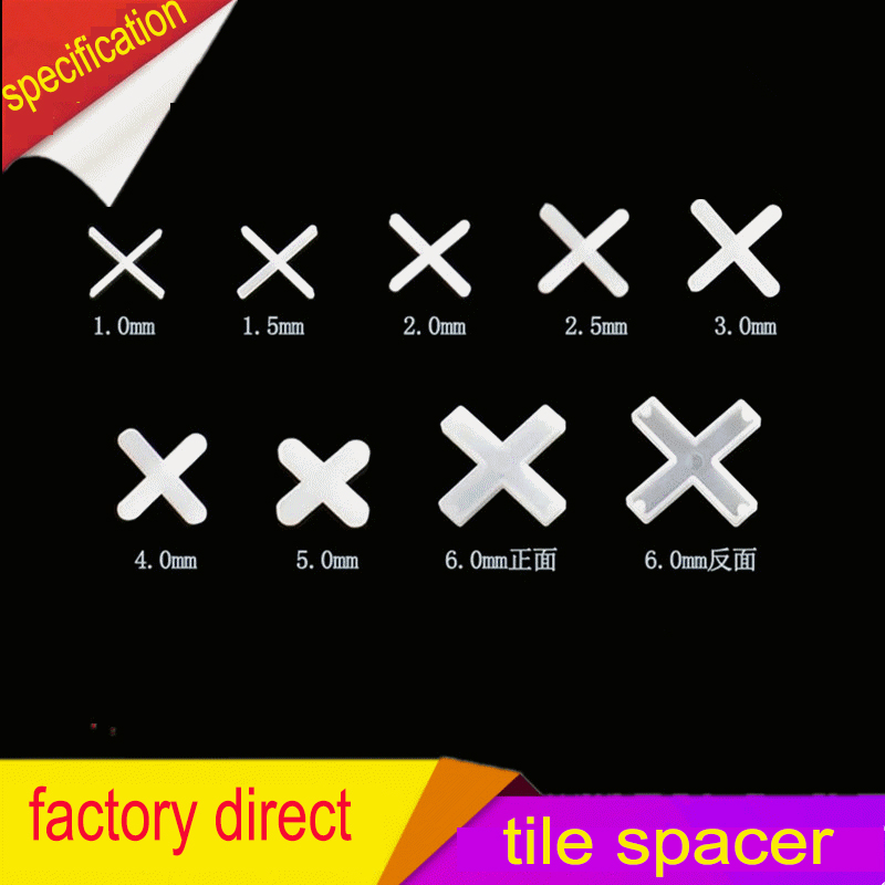 1mm.Tile Spacers, ceramic tile spacers, Spacing of Floor and Wall Tiles.2000pcs цена