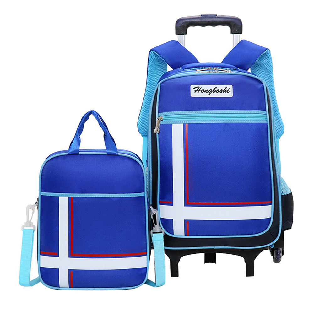 Children School Bags Kids boys girls Trolley Schoolbag Rolling Luggage Book Bag Wheeled Backpack Mochilas