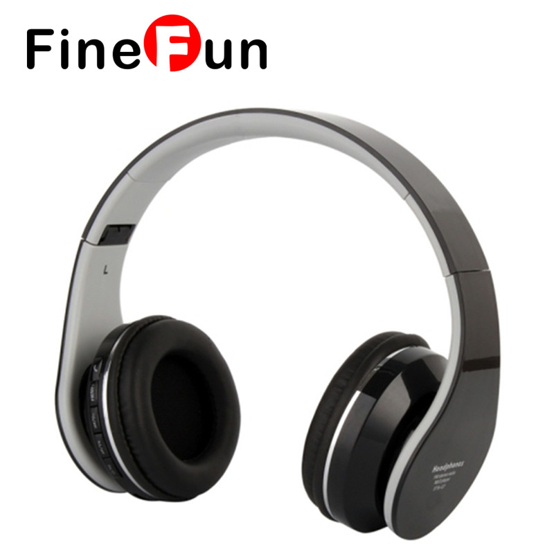 ФОТО Original Kubite STN-07 Wireless Bluetooth Earbuds Stereo Foldable Handsfree Best Headset with Mic Support FM TF Free shipping