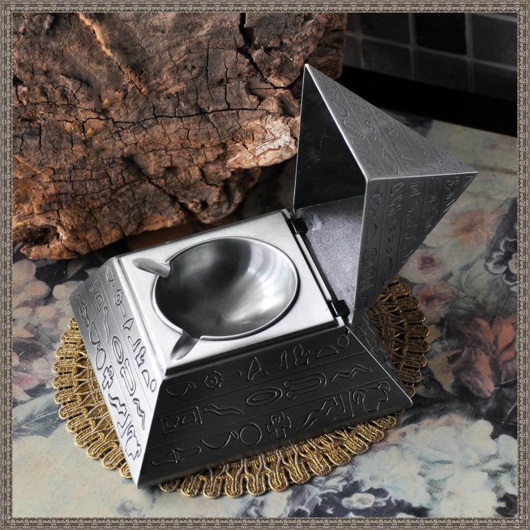 Пирамида Bejeweled Box декоративный Коллекционная металлическая шкатулка кольца, серьги, кулон Дисплей безопасной упаковки подарочной коробке