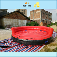 inflatable floating crazy UFO towable water ski sofa