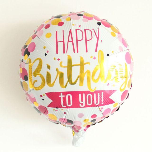 New 18inch 1pcs Happy Birthday Foil Balloons Party Decor Pineapple Helium Flamingo Supplies