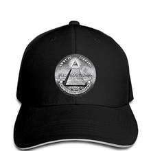 2d31e52d Illuminati Mason Masonic Dollar Pyramid Eye Quality Baseball cap 3D Men Hot  Cheap Male cap(