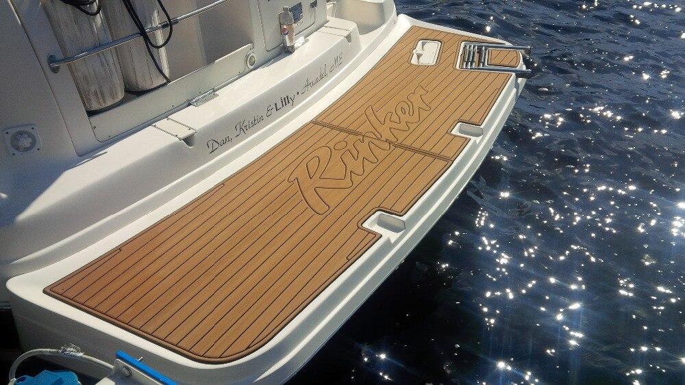 US $205 0 |2006 Larson 228 LXI Boat Swim Platform Pads 1/4